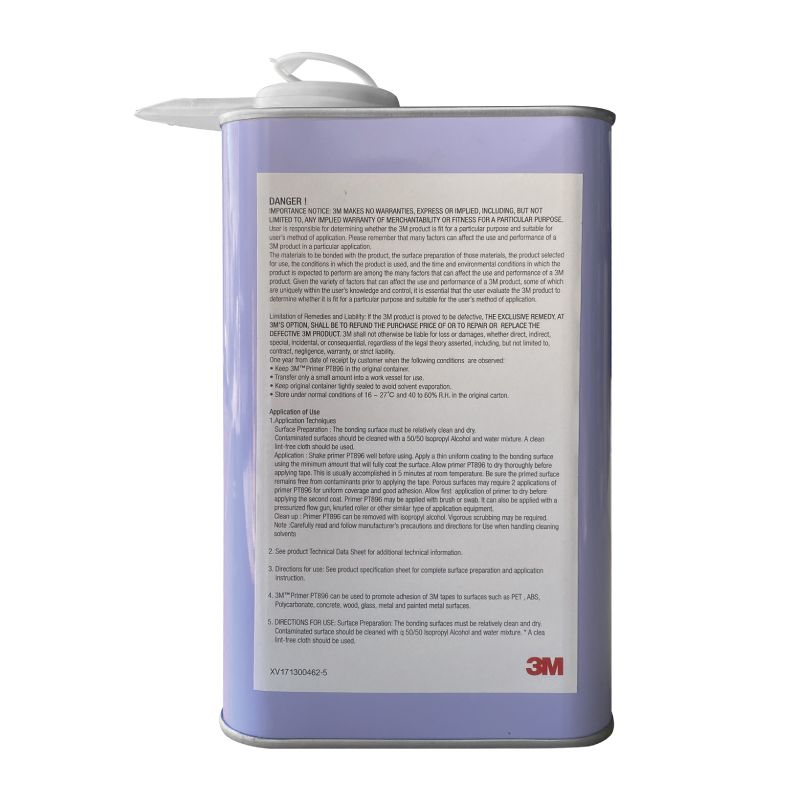 3M助黏劑PT896 Primer架橋劑/前處理液/封邊膠-1000ml