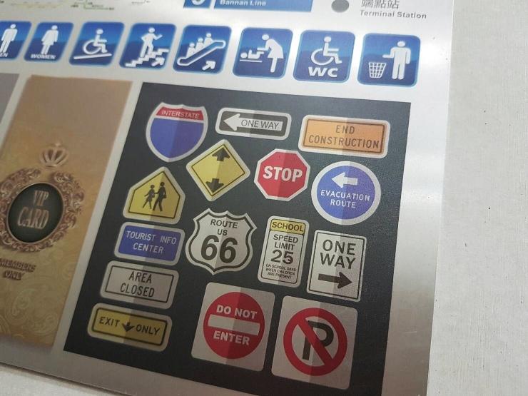 UV印刷鋁板告示牌