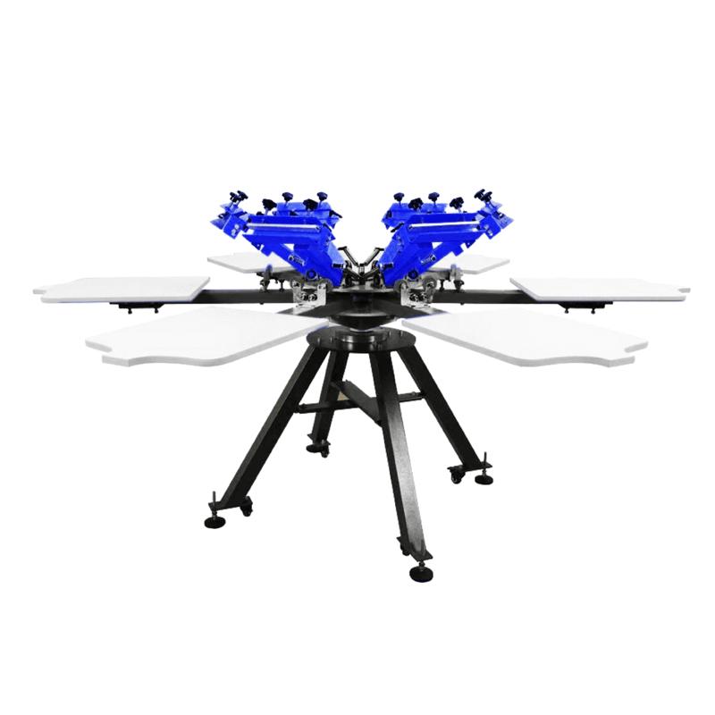 APEX SP-6C-六色網版印刷機