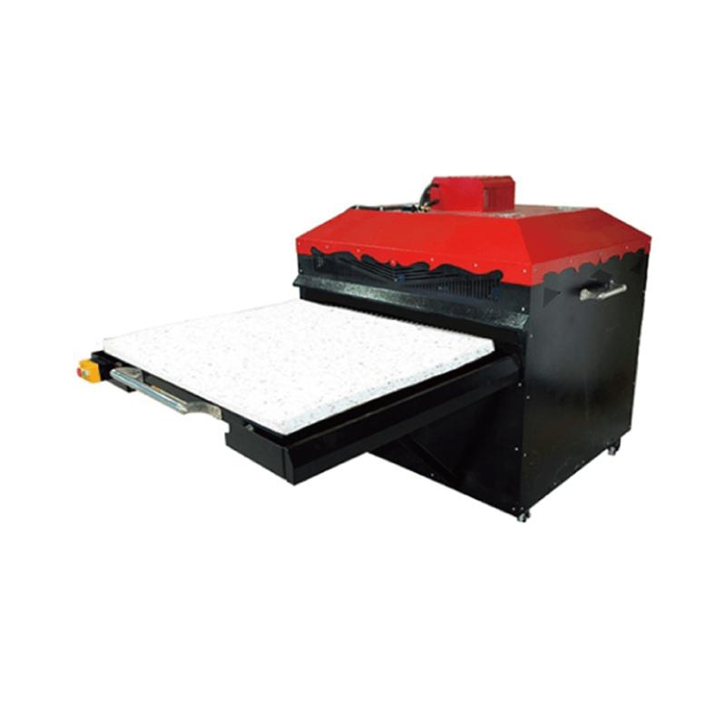 100×80cm ASTM 雙平台大型氣動熱轉印機