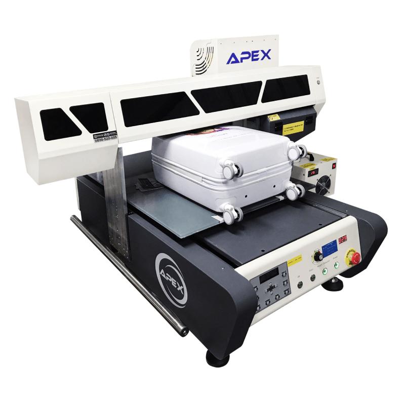 APEX UV6090H 桌上型UV行李箱印刷機-UV直噴機推薦