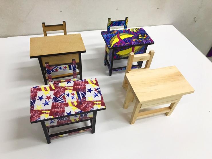 模型桌椅-雷射雕刻機推薦