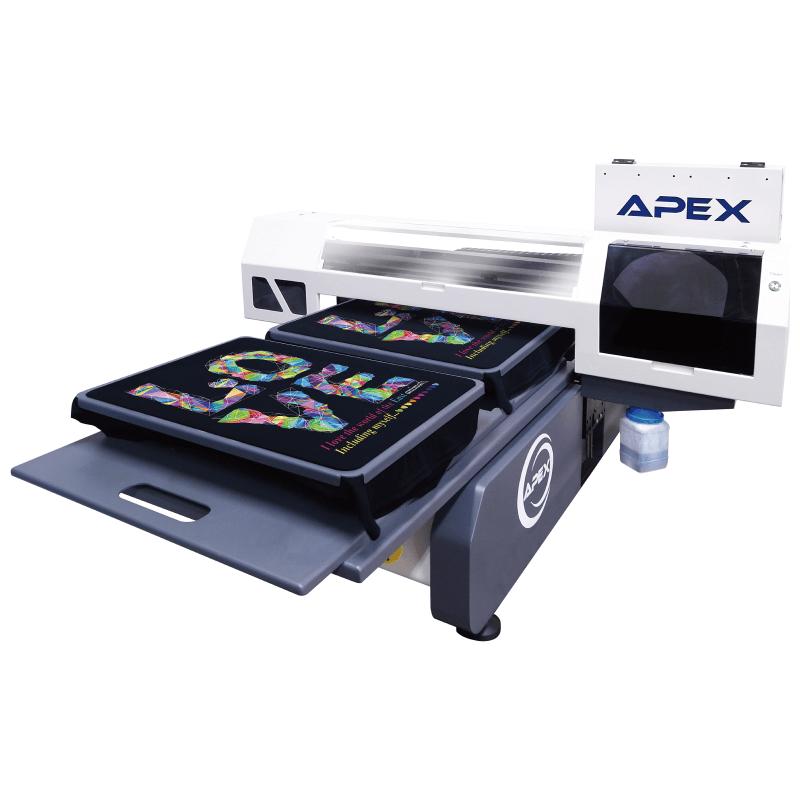 APEX DTG6090 桌上型紡織數位印刷機-紡織直噴機推薦
