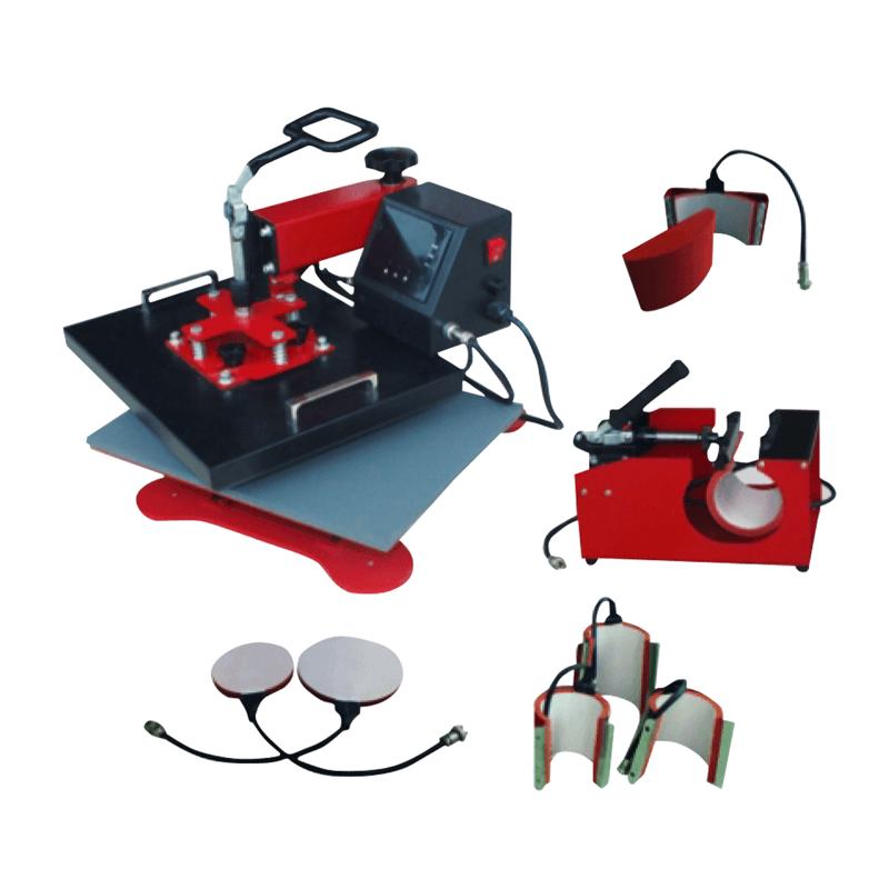 八合一多功能熱昇華轉印機-熱轉印設備推薦
