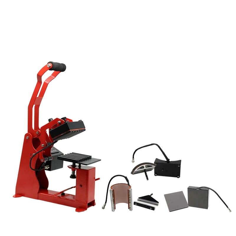 四合一多功能熱轉印機-熱轉印設備推薦