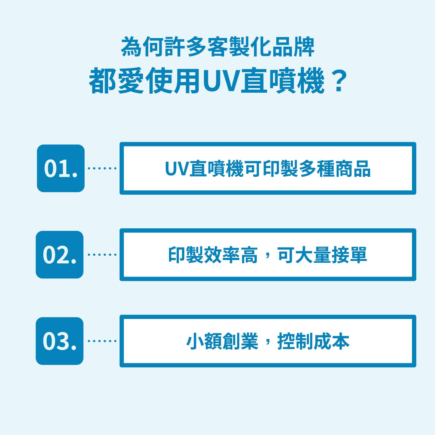 為何許多客製化品牌都愛使用UV直噴機?