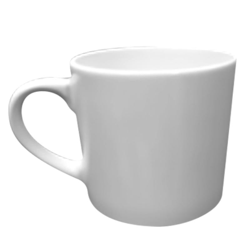 熱轉印6OZ小白杯/馬克杯(48入附外盒)