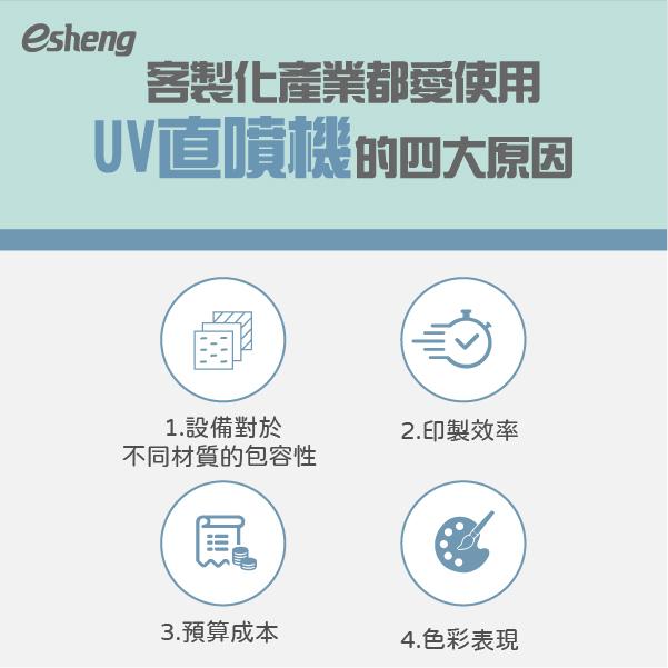 客製化產業都愛使用UV直噴機的四大原因