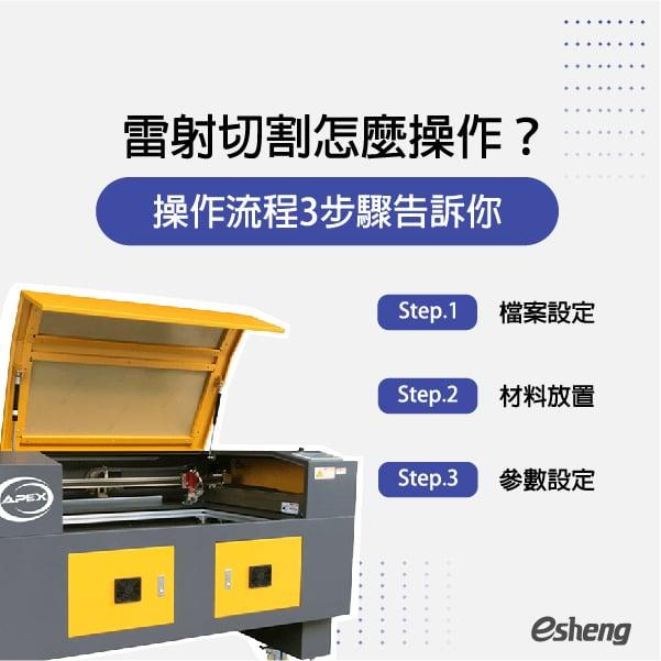雷射切割怎麼操作?操作流程3步驟告訴你