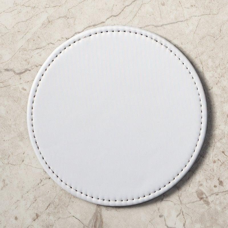 熱轉印皮革杯墊(10入)