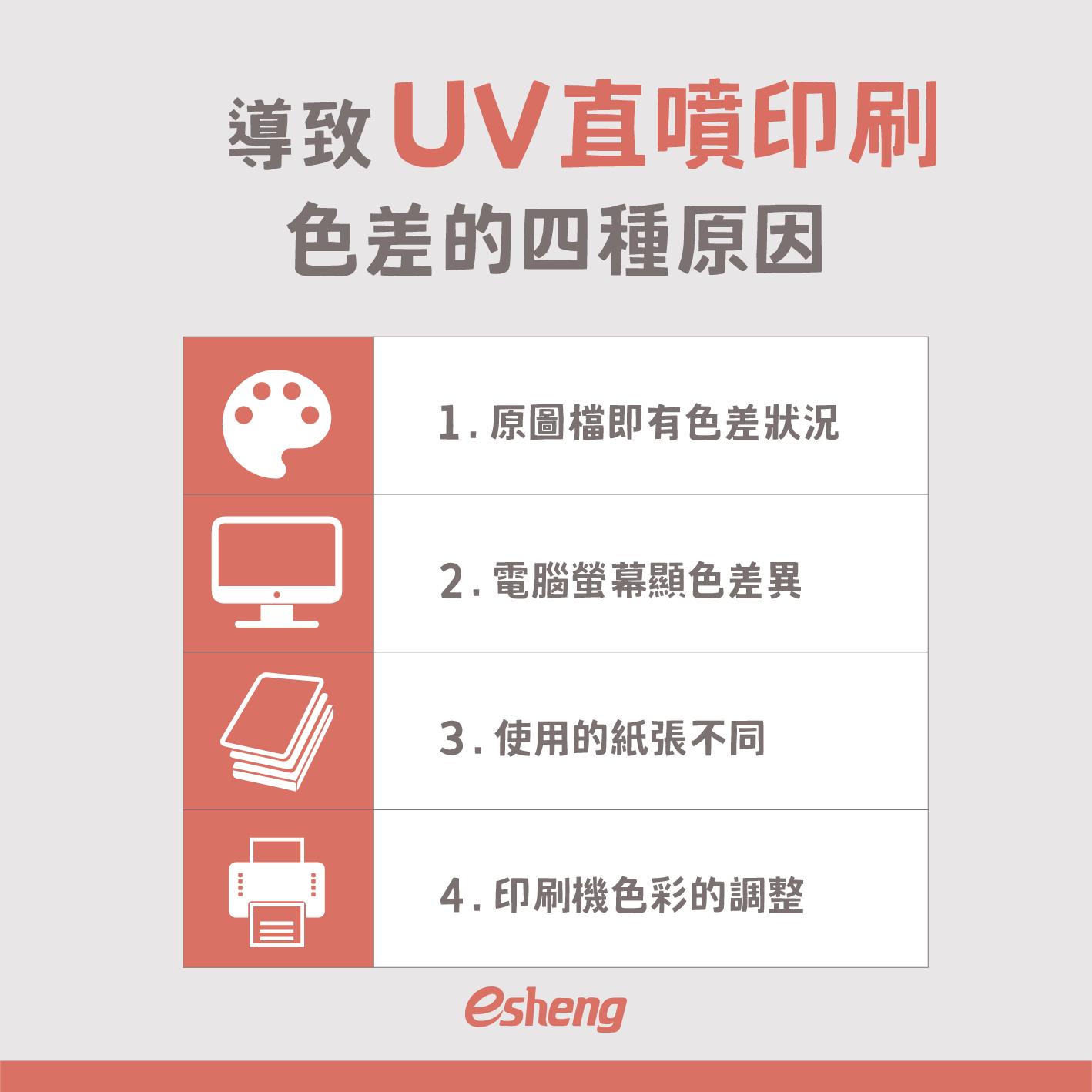 導致UV直噴印刷色差的四種原因